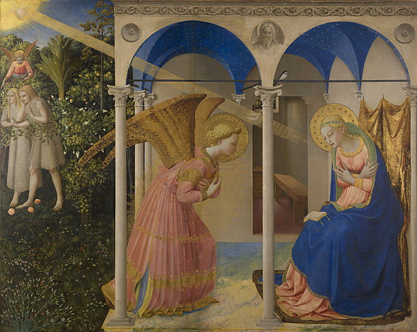 Annunciation_Fra Angelico