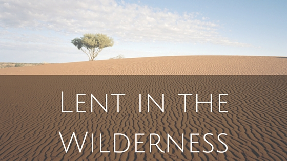 Lent in the Wilderness