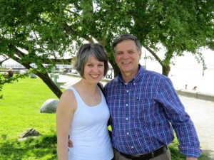 Reverend Peter Klenner and his wife, Jenny