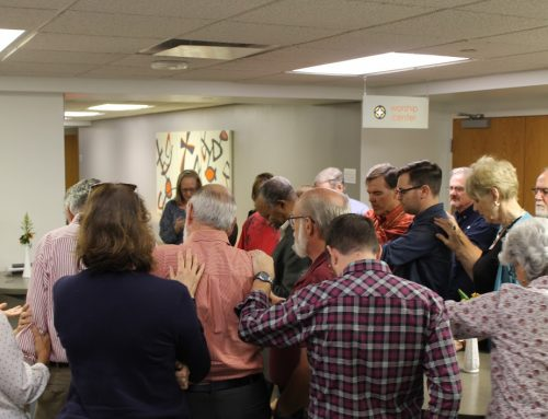 Prayer and Healing at Winter Conference