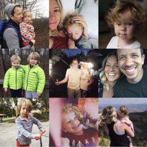 collage Walz Family