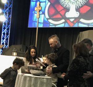 Luminous First Baptisms