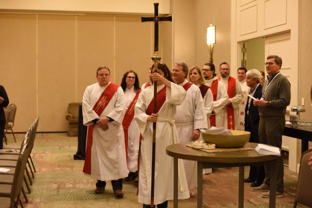 Processional at Winter Conference 2018.