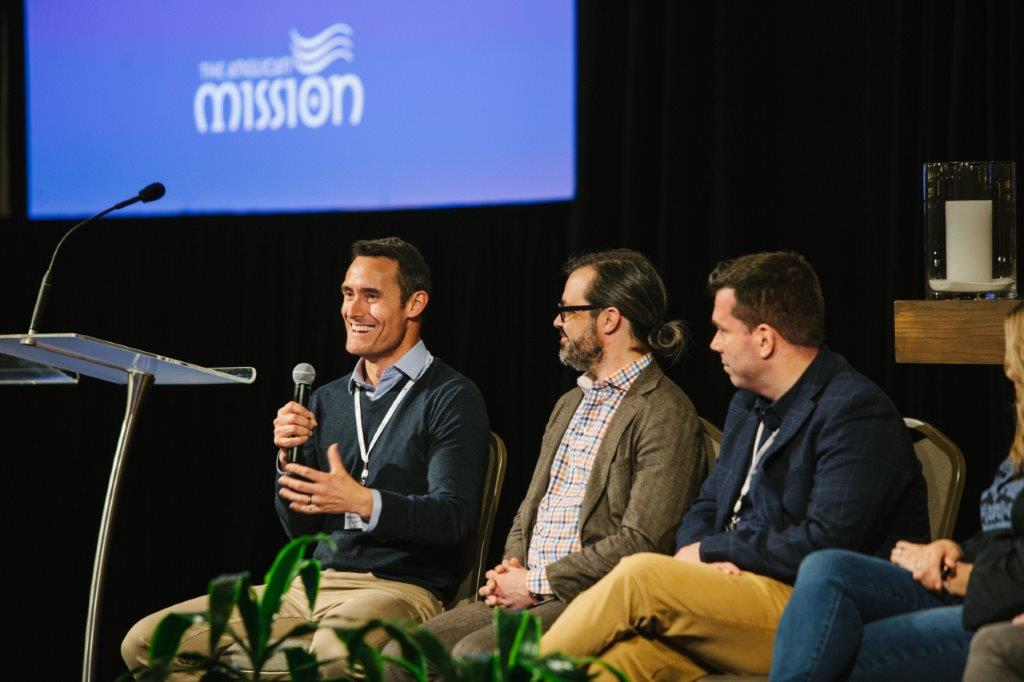"""Creating a Culture of Invitation"" Panel. Dustin+ Freeman, Chris Hite, David+ Larlee"